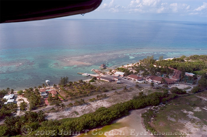 Eyefathom.com Photos - Flying into Little Cayman