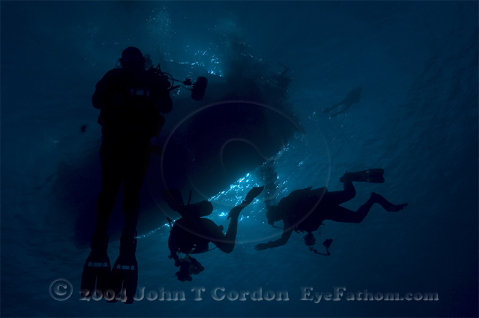 Eyefathom.com Photos - Dive Boat Silhouette 2
