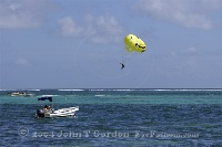 Parasail going up