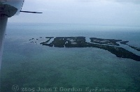Flying into Ambergris Caye