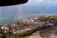 Flying into Little Cayman