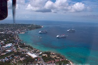 Cruise Ships in Grand Cayman Harbor