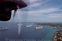 Cruise Ships in Grand Cayman Harbor 2