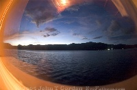 Window Sunset in Lembeh