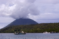 Manado Tua Eruption from Siladen